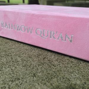 Rainbow Quran Arabic – Pink