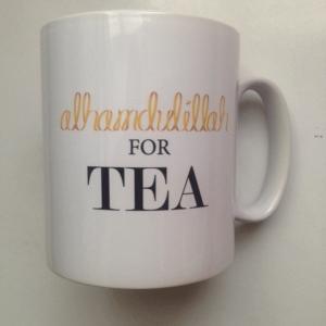 Alhamdulilah For Tea Mug