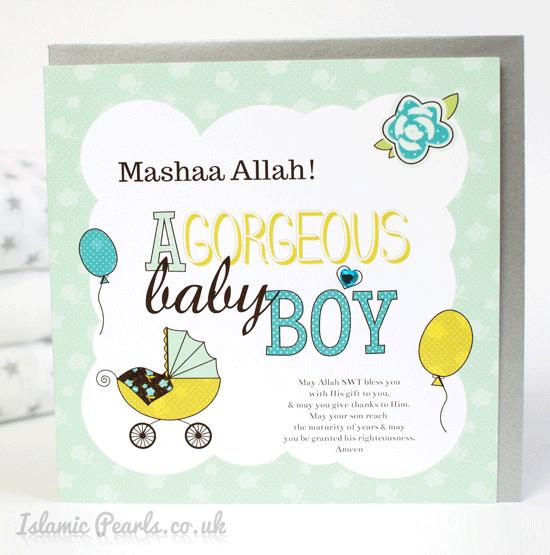 Imgenes de newborn baby boy wishes in islam new baby boy greeting card m4hsunfo