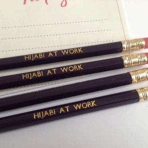 Pencil – Hijabi at Work