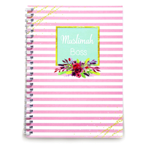 Muslimah Boss Lined A5 Notebook