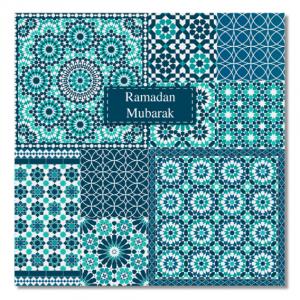 Ramadan Mubarak Card – Zellige