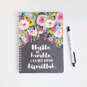 2018 Muslimah Life Planner – Hustle, Be Humble