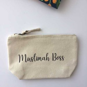 Muslimah Boss Travel & Make Up Bag
