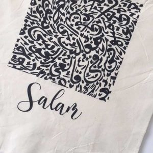 Salaam Canvas Tote Bag