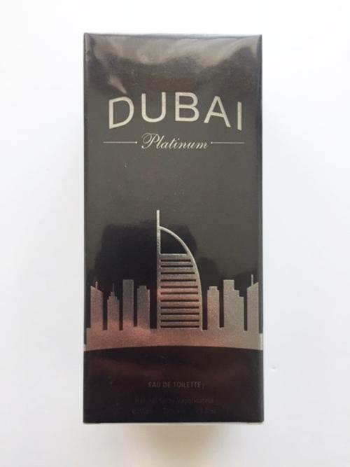 Dubai Platinum eau de toilette 100ml