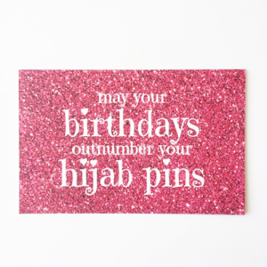 Birthdays Hijab Pins