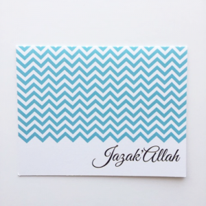 JazakAllah Greeting Card