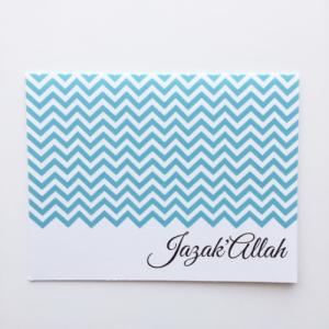 Jazak'Allah Card