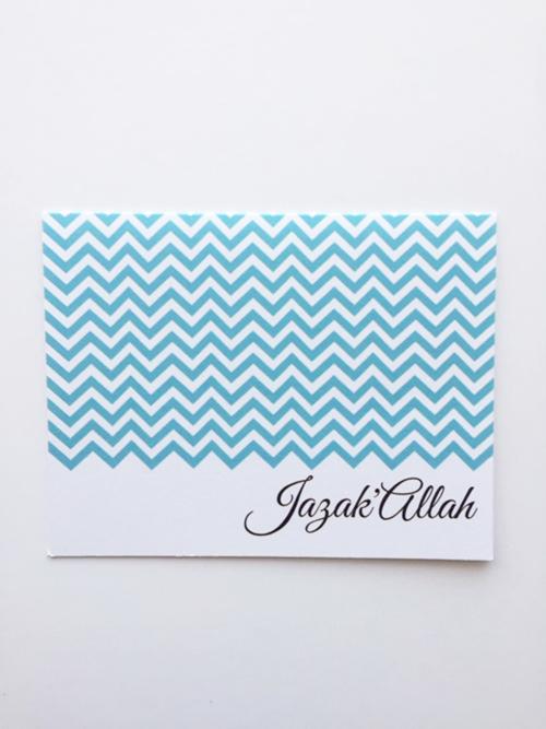 JazakAllah Greeting Card