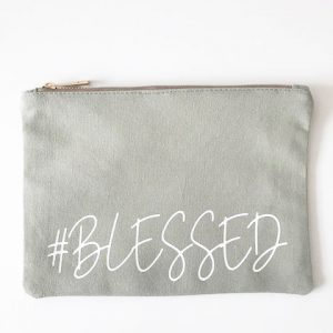 Blessed Make Up Bag and Pouch