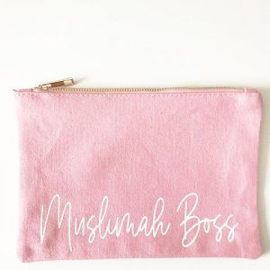 Muslimah Boss Make Up Bag and Pouch