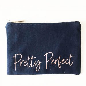 Pretty Perfect Make Up Bag and Pouch