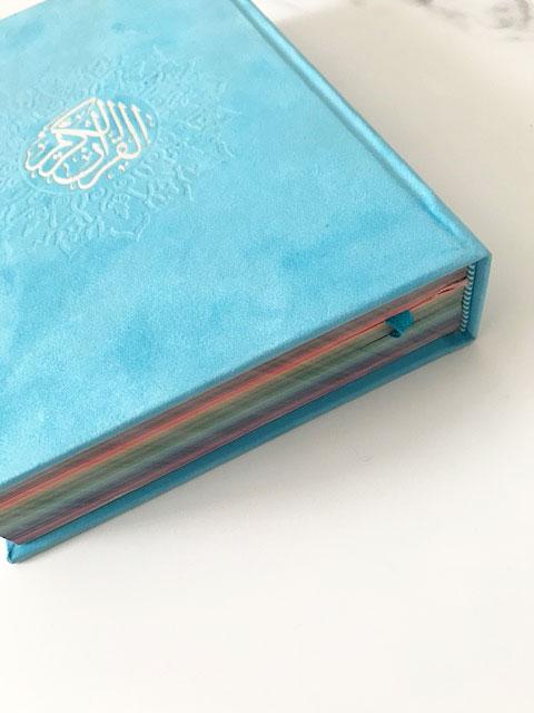 Soft Blue Quran