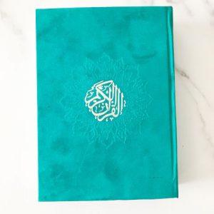 Teal Rainbow Quran