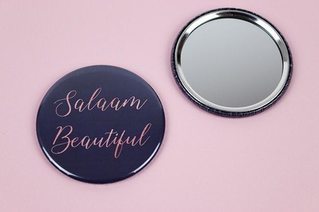 Salaam Beautiful Mirror Blue