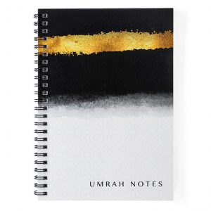 A5 Umrah Notes Lined Notebook