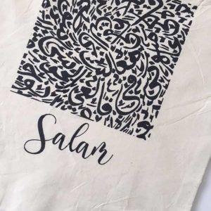 Salaam Canvas Tote Bag