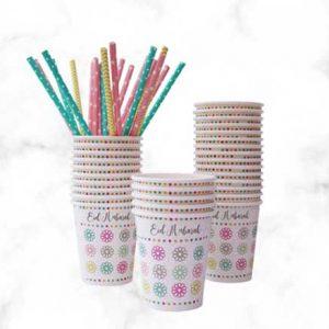 Eid Mubarak Disposable Paper Cups