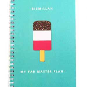 Bismillah My Fab Master Plan Notebook
