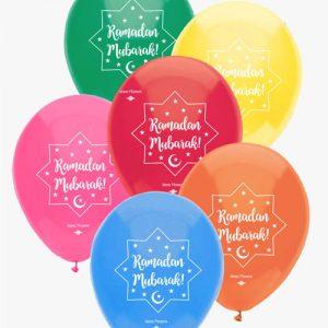 Ramadan Mubarak Balloons