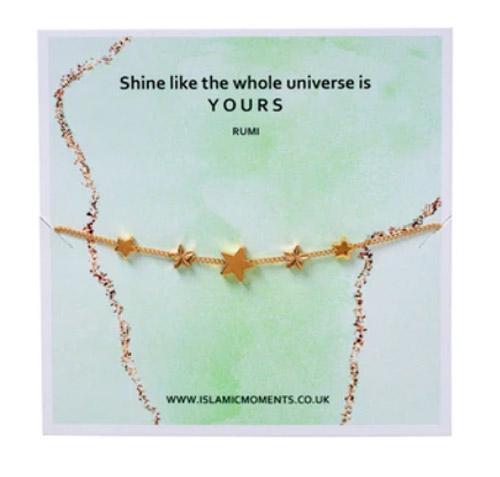 Rose Gold Bracelet With Stars
