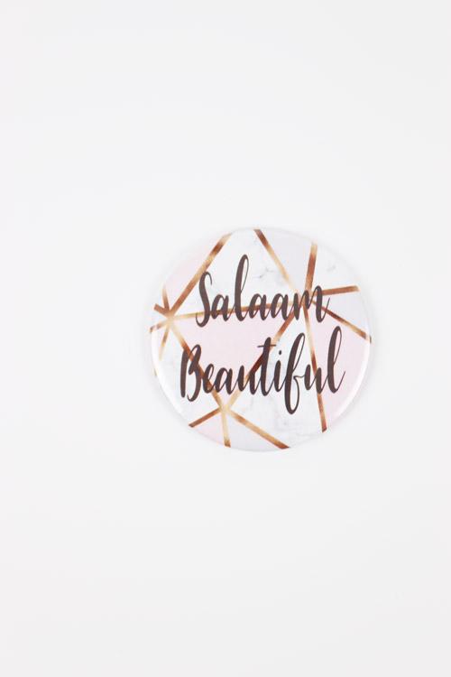 Salaam Beautiful Mirror Marble